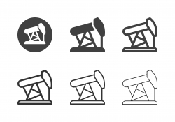 Oil Derrick Icons - Multi Series