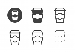 Coffee To Go Icons - Multi Series
