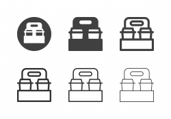 Take Away Coffee Icons - Multi Series