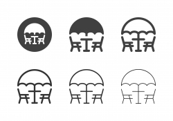 Patio Furniture Icons - Multi Series