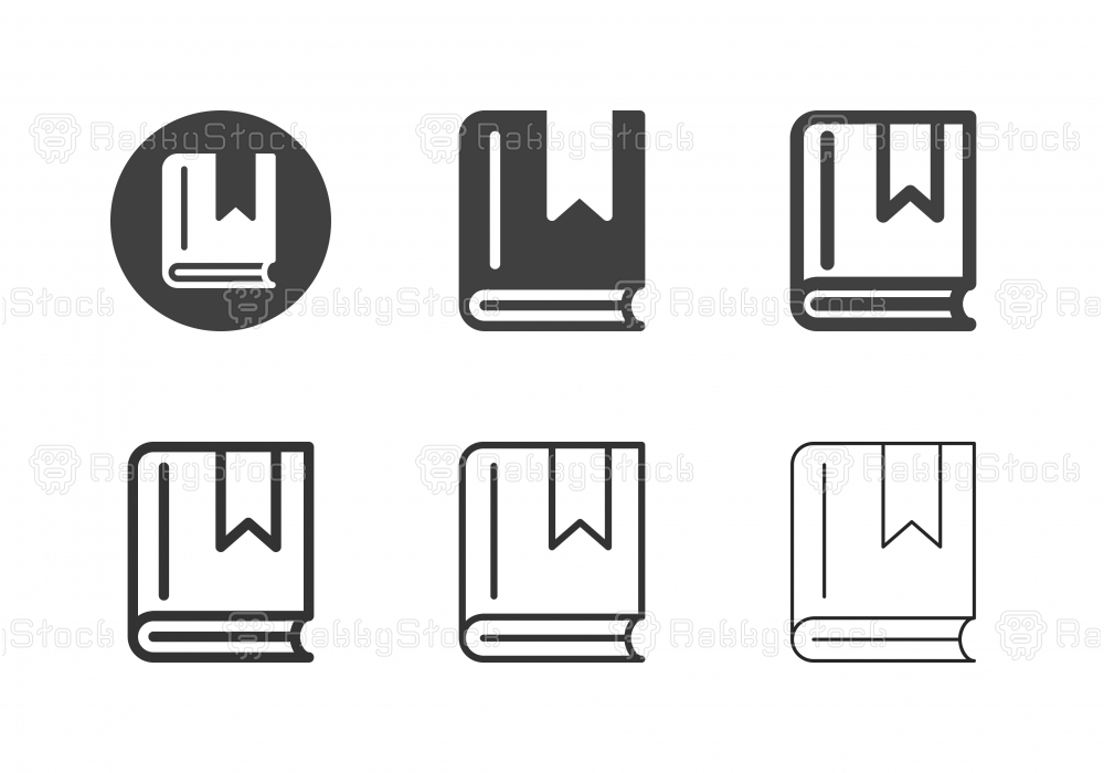 Book Icons - Multi Series