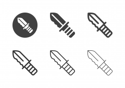 Hunting Knife Icons - Multi Series
