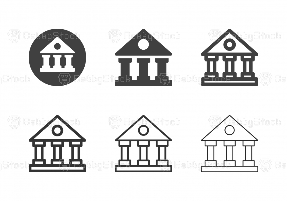 Courthouse Icons - Multi Series
