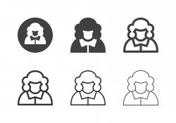 Judge Icons - Multi Series
