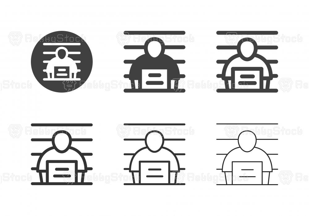 Suspect Icons - Multi Series