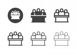 Jury Icons - Multi Series