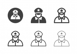 Police Icons - Multi Series