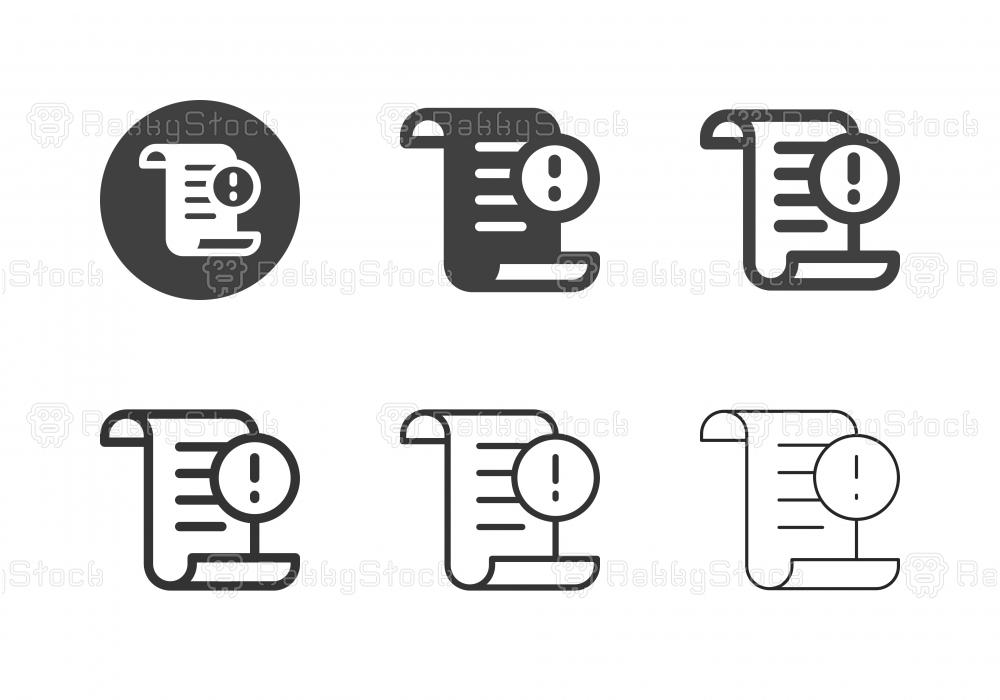 Subpoena Icons - Multi Series