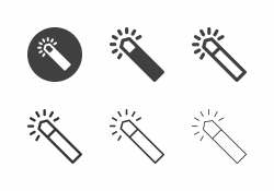Magic Wand Tool Icons - Multi Series