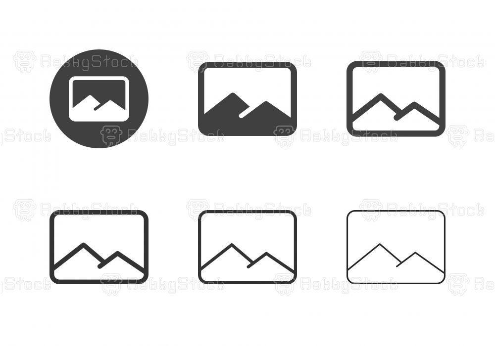 Landscape Icons - Multi Series