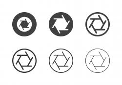 Aperture Icons - Multi Series