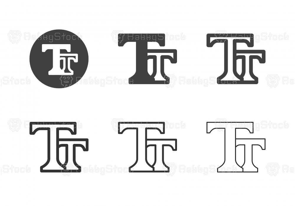 Type Tool Icons - Multi Series