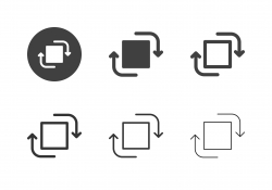 Image Rotate Icons - Multi Series