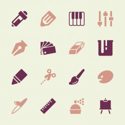 Creative Icons - Color Series   EPS10