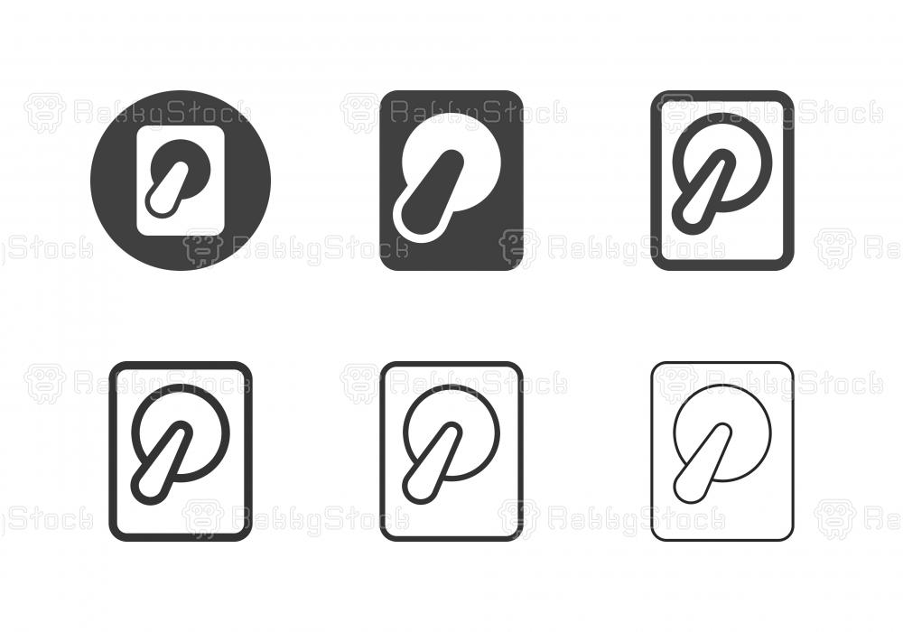 Harddisk Icons - Multi Series