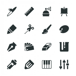 Creative Silhouette Icons