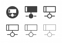 Networking Icons - Multi Series