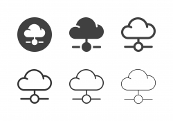 Cloud Computing Icons - Multi Series