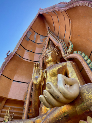 Golden Buddha at Tham Sua Temple