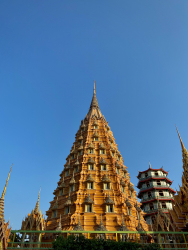 Pagoda Tower at Tham Sua Temple