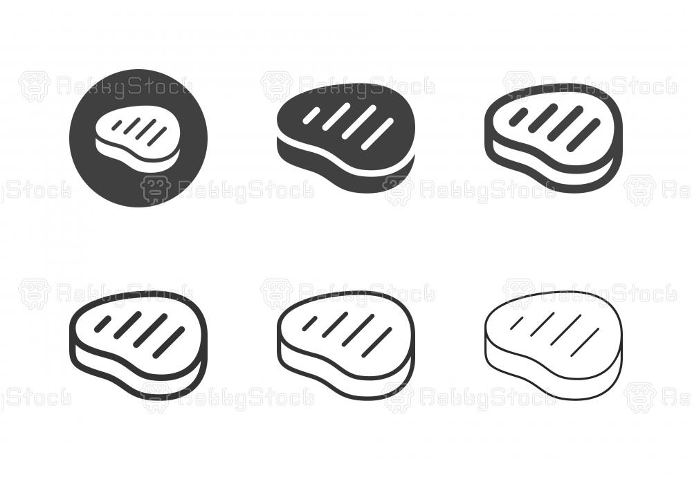 Steak Icons - Multi Series