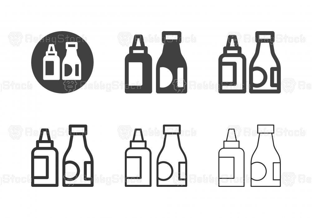 Ketchup Icons - Multi Series