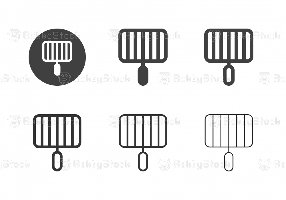 Grill Grate Icons - Multi Series