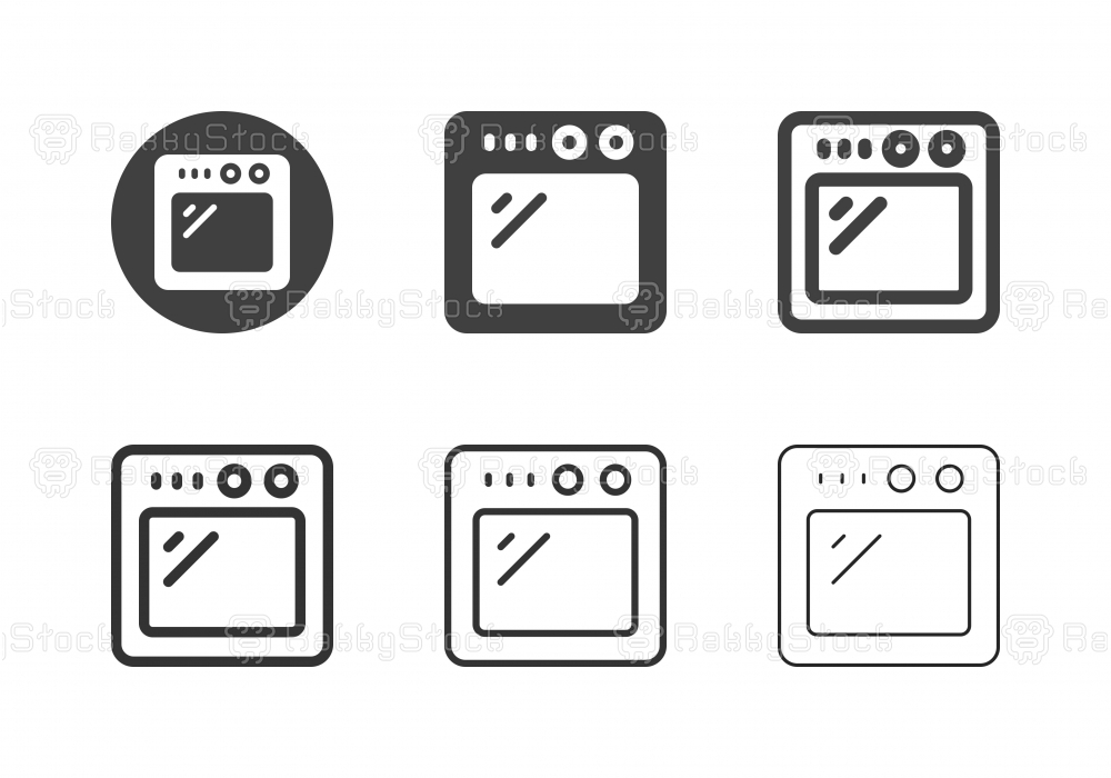 Oven Icons - Multi Series