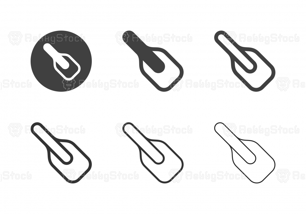 Baking Spatula Icons - Multi Series