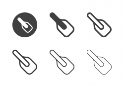 Baking Spatula Icons - Multi Series