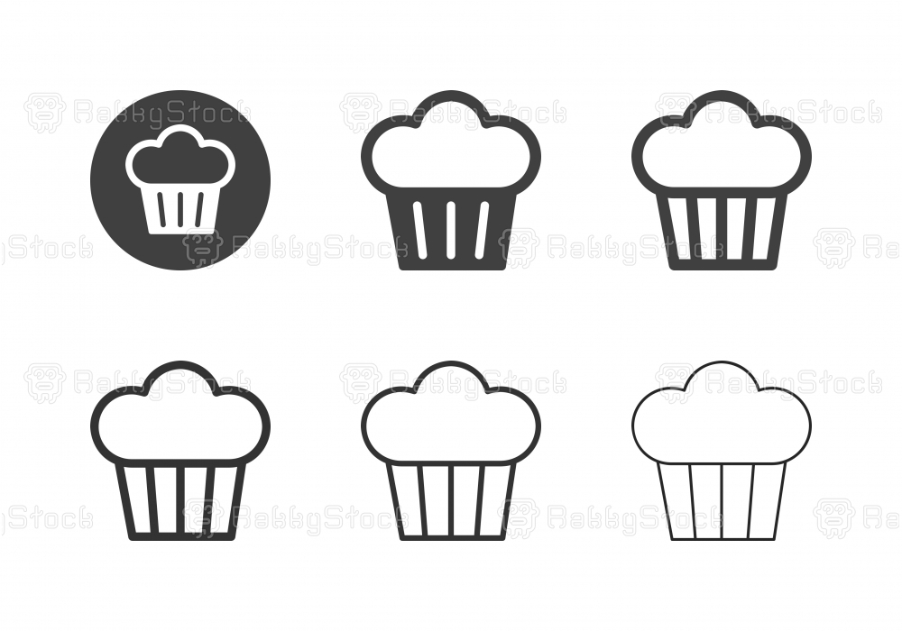 Muffin Icons - Multi Series