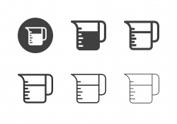 Measuring Jug Icons - Multi Series