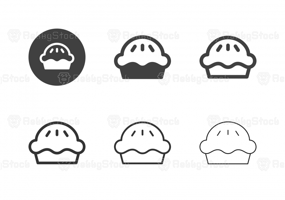 Pie Icons - Multi Series