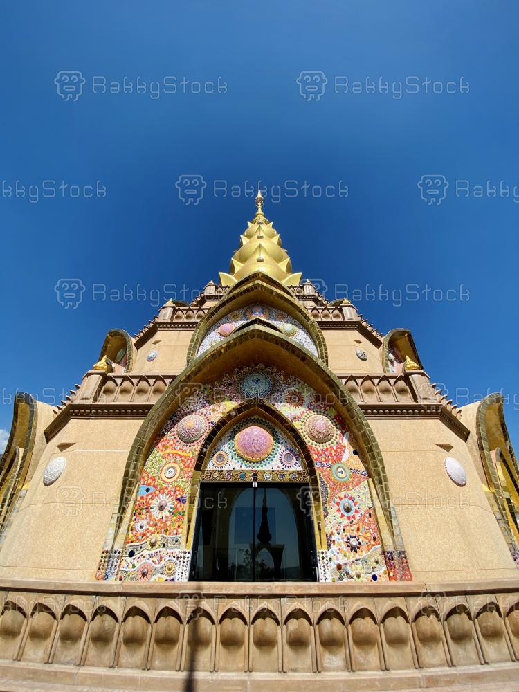 The Pagoda at Pha Son Kaew Temple