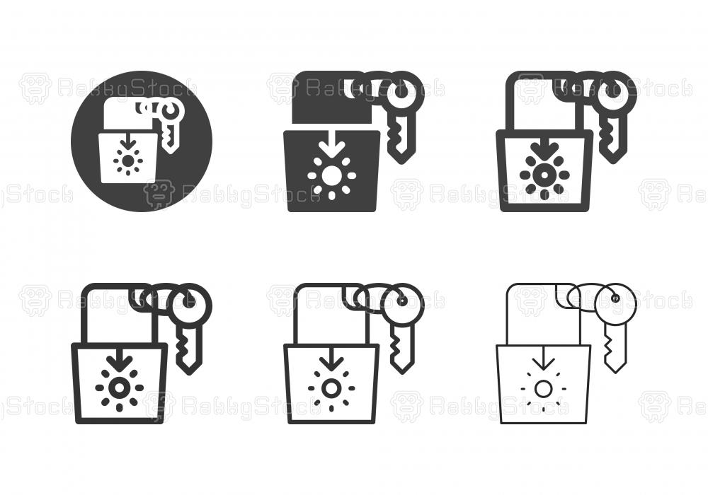Key Card Icons - Multi Series