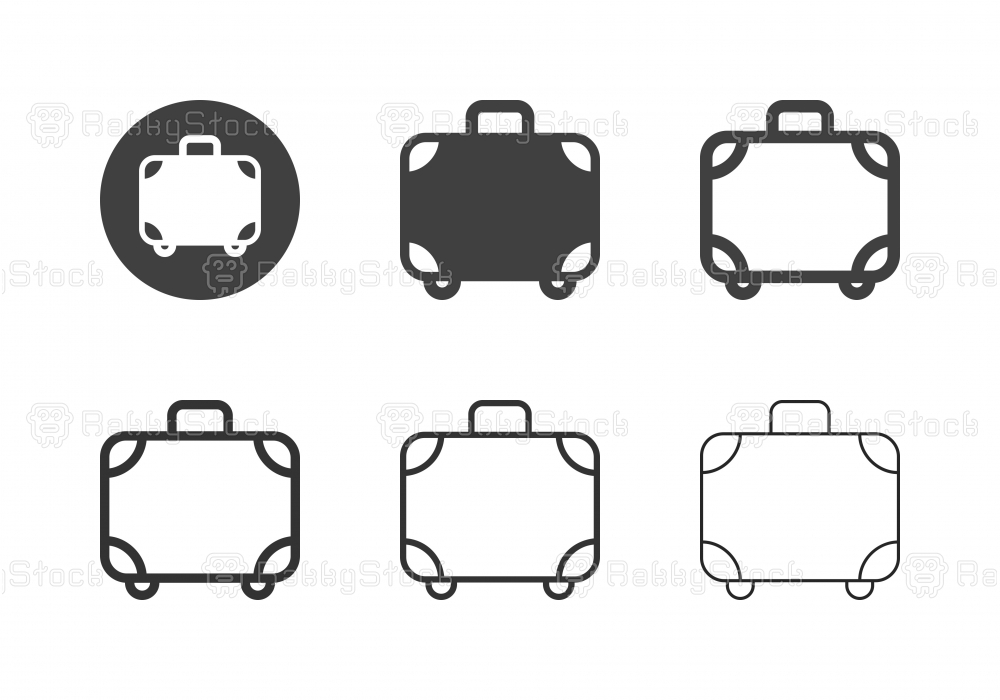 Luggage Icons - Multi Series