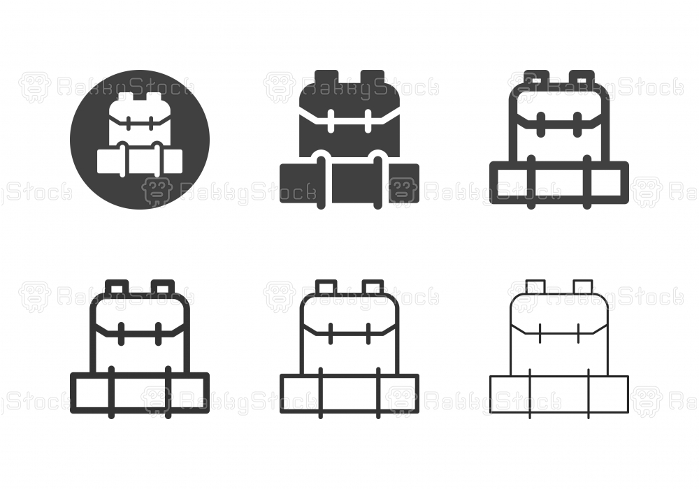 Backpack Icons - Multi Series