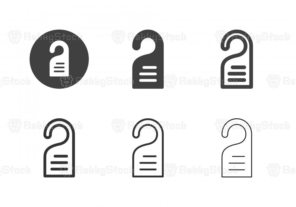 Door Hanger Icons - Multi Series