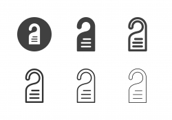 Door Hanger Icons - Multi Series