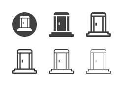 Portable Toilet Icons - Multi Series