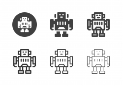 Robot Icons - Multi Series