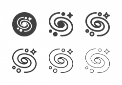 Black Hole Icons - Multi Series
