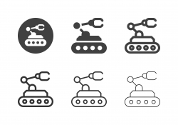 Mars Rover Icons - Multi Series