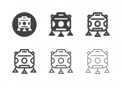 Spacecraft Icons - Multi Series