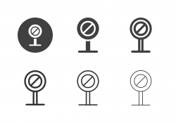 Road Sign Icons - Multi Series