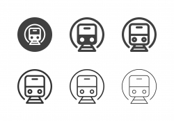 Subway Train Icons - Multi Series
