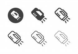 Underwater Torch Icons - Multi Series