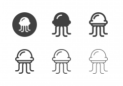 Jellyfish Icons - Multi Series