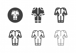 Wetsuit Icons - Multi Series