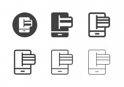 Electronic Card Icons - Multi Series